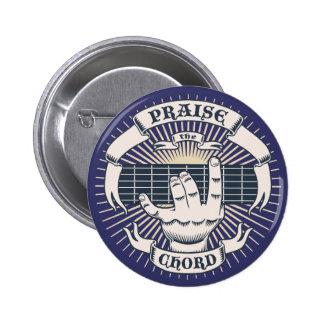 Praise the Chord 6 Cm Round Badge