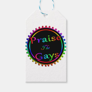 Praise the gays gift tags