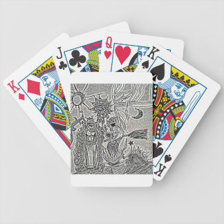 praiseandburn bicycle playing cards
