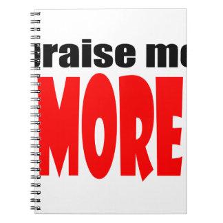 PRAISEmemore praise appraise more teacher school c Notebooks