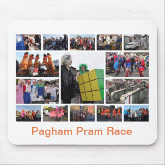 Pram Race Mouse Pad