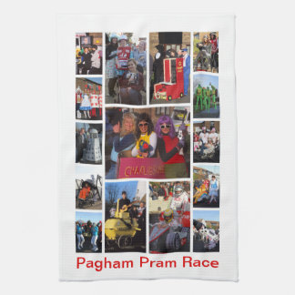 Pram Race Tea Towel