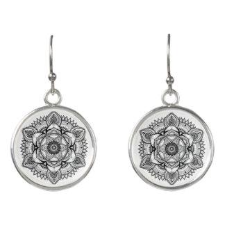 Prana Mandala Drop Earrings