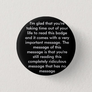 Prank 'message' badge