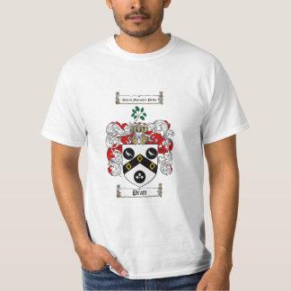 Pratt Family Crest - Pratt Coat of Arms T-Shirt