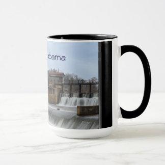 Prattville Alabama Historic Dam Coffee Mug