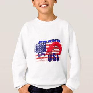 prawn in the usa sweatshirt