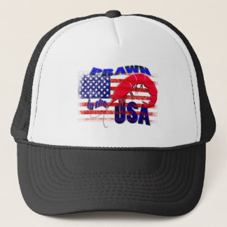 prawn in the usa trucker hat