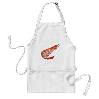 Prawn shrimp seafood kitsch BBQ Standard Apron