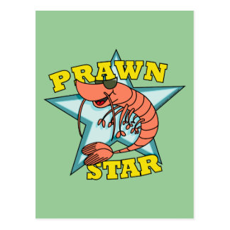Prawn Star Postcard