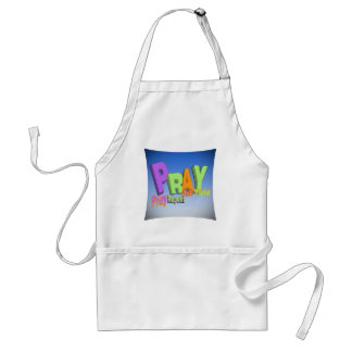 PRAY ACRONYM - PRAY REPENT ASK YIELD STANDARD APRON