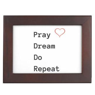 Pray Dream Do Repeat - Keepsake Box