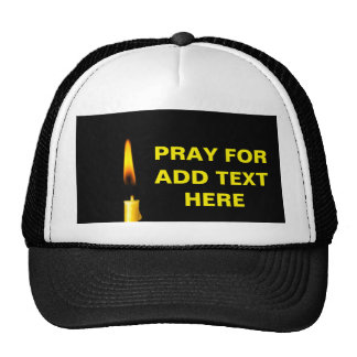 Pray For Add Text Cap