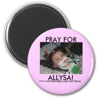 pray for allysa magnet