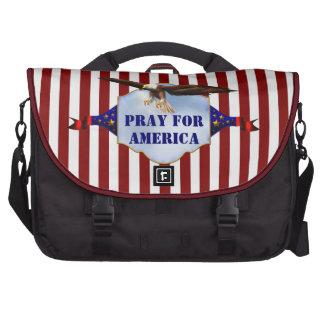 Pray For America Christian Laptop Bag