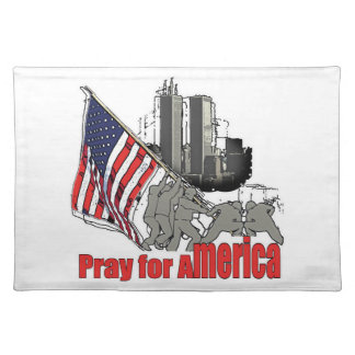 Pray for america placemat