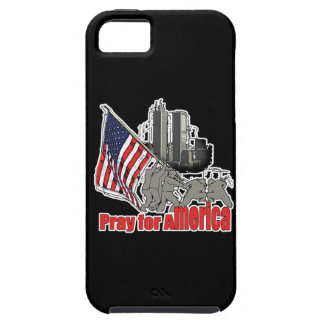 Pray for america tough iPhone 5 case