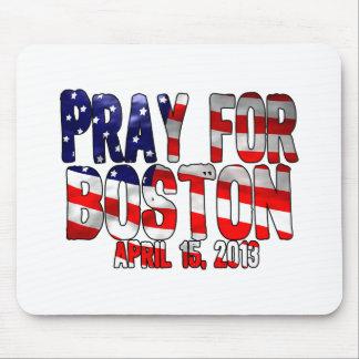 Pray For Boston Mousepads