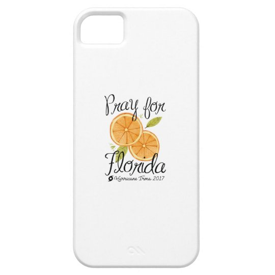 Pray For Florida iPhone 5 Case