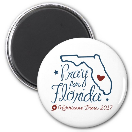 Pray For Florida Magnet