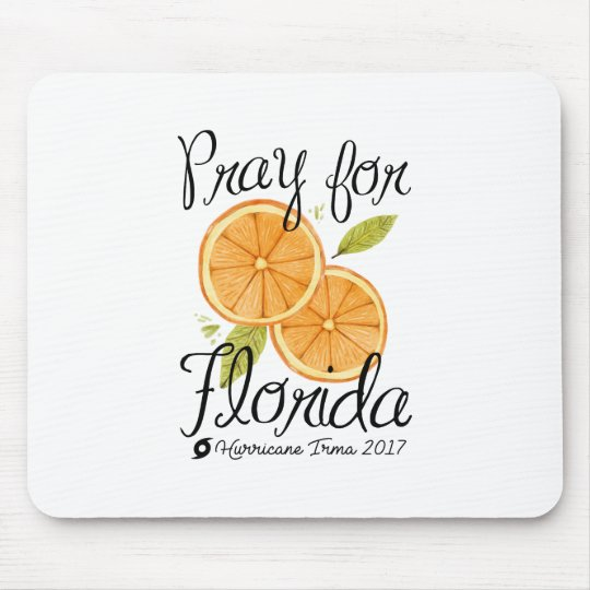 Pray For Florida Mouse Pad