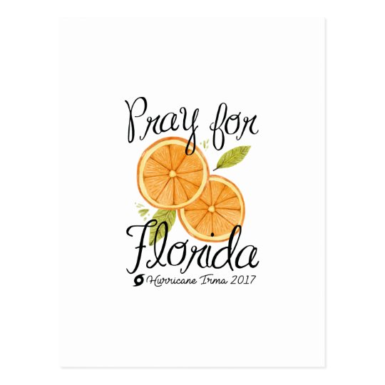 Pray For Florida Postcard