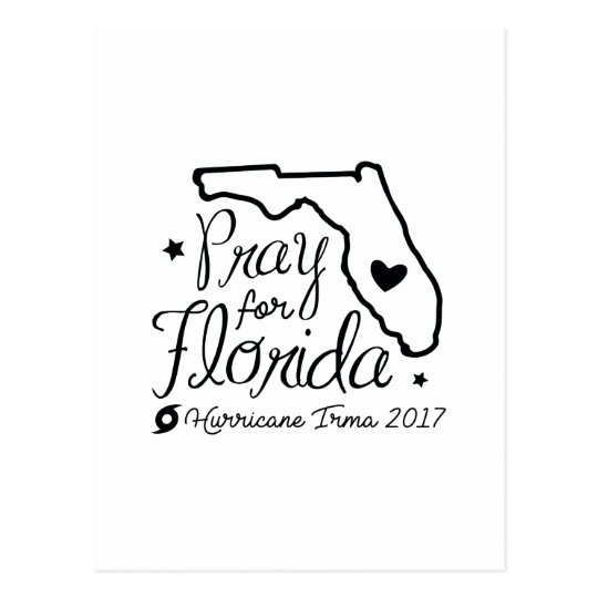 Pray For Florida Postcard