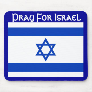 Pray For Israel Mouse Pad