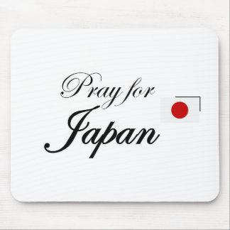 Pray for Japan Mouse Pads