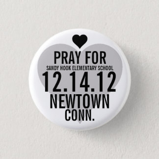 Pray For Newtown Button