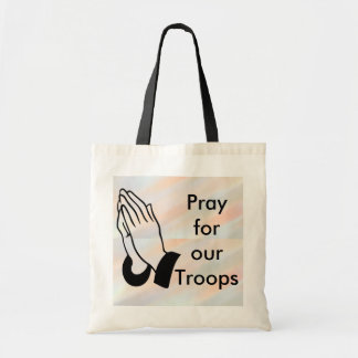 Pray for our troops bag