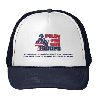 Pray For Our Troops Hat