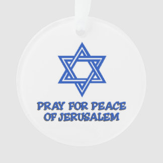Pray for Peace Ornament