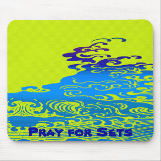 Pray for Sets Mouse Pad