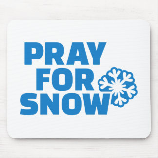 Pray for snow mousepads