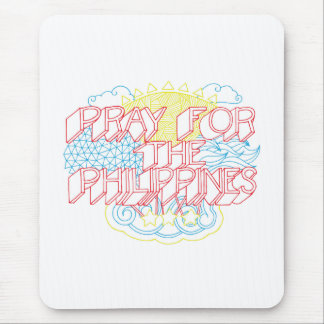 Pray for the Philippines Mousepad