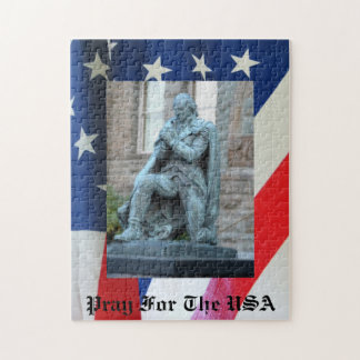 Pray for the USA Jigsaw Puzzle