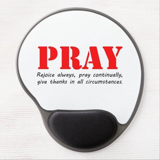 Pray Gel Mouse Pad