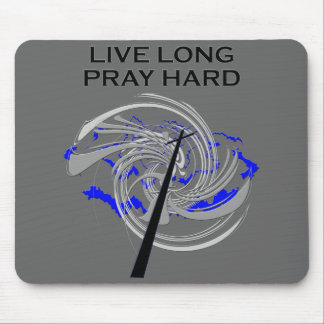 Pray Hard Mouse Pad