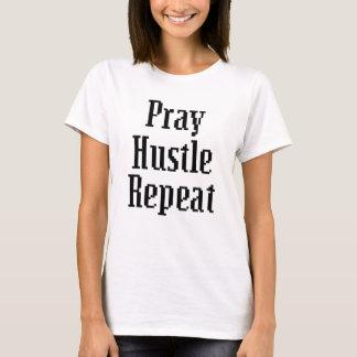 Pray Hustle Repeat Women's shirt