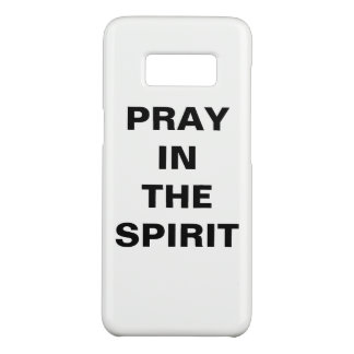 """Pray In The Spirit"" Samsung Galaxy S8 Case"