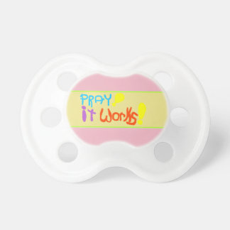 'Pray! it Works!' Baby Pacifier