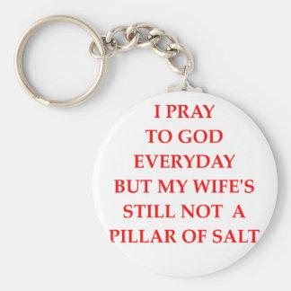 PRAY KEY RING