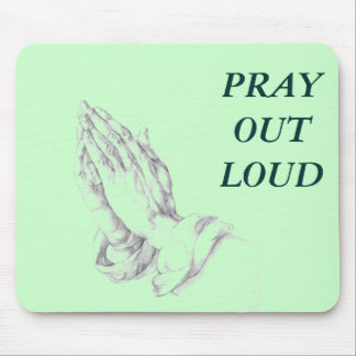 PRAY MOUSE PAD
