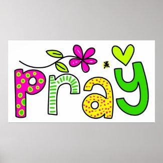 Christian Poster: Pray