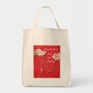 Pray Rosary Canvas Bag