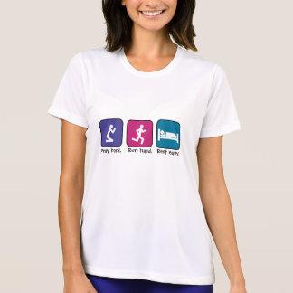 Pray, run, rest-ladies T-Shirt