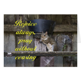 Pray Without Ceasing Card