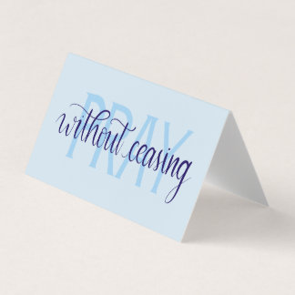 Pray Without Ceasing Greeting Cards Set