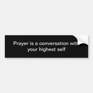 Prayer Bumper Sticker